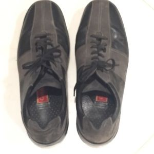 Cole Haan Nike Air sports men gray leather shoe